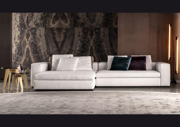 Minotti divano leonard bianco minotti divano e idee for Arredamenti bellissimi