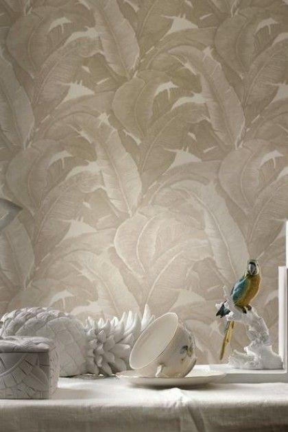 Teide Tropical Leaves Wallpaper - Lights