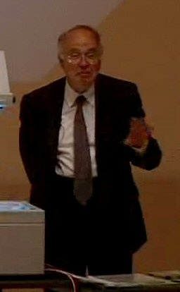 Sir Michael Atiyah lectures on the Millennium Prize Problems for the next century.    http://claymath.msri.org/atiyah2000.mov
