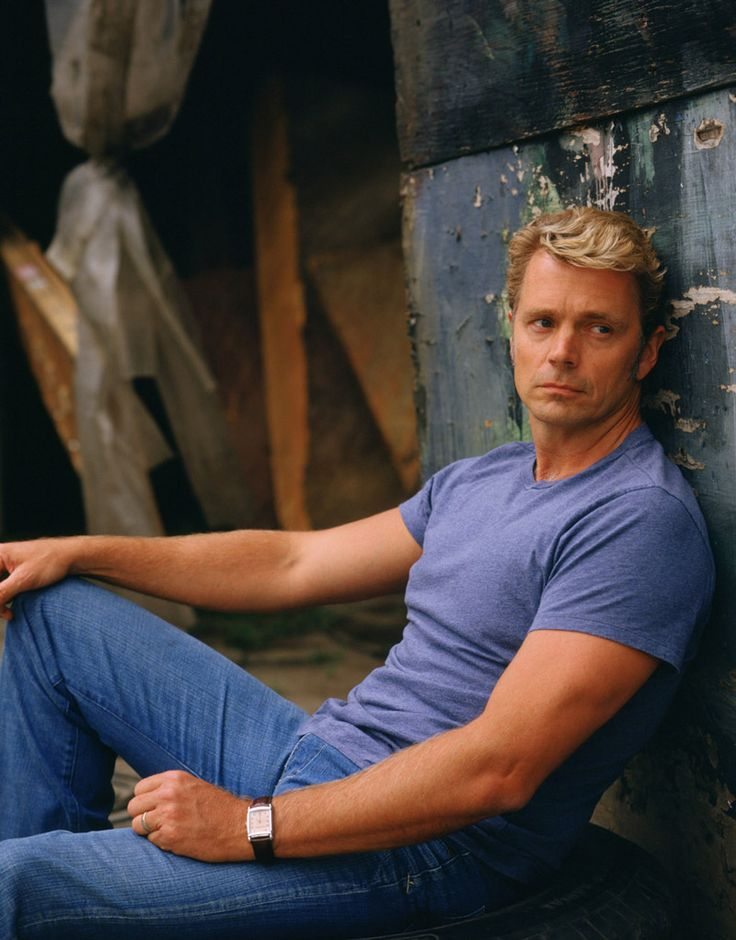 John Schneider - he was my first crush as Bo Duke. Time has treated him well.