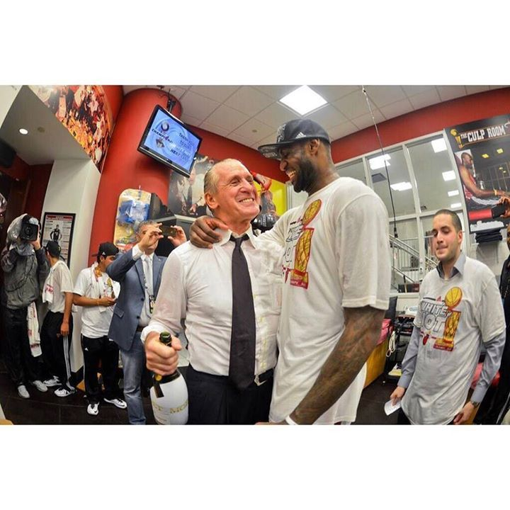 Pat Riley says LeBron James stunning departure in the summer of 2014 was the most shocking event of his long tenure as Miami Heat team president. I think many Cavs fans know the feeling. #dhtk #repre23nt #donthatetheking http://ift.tt/2n7ZaRN