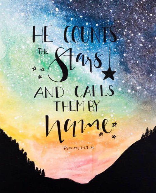 🌟 #CountTheStars #God #Creator #Source #TheOne #Universe