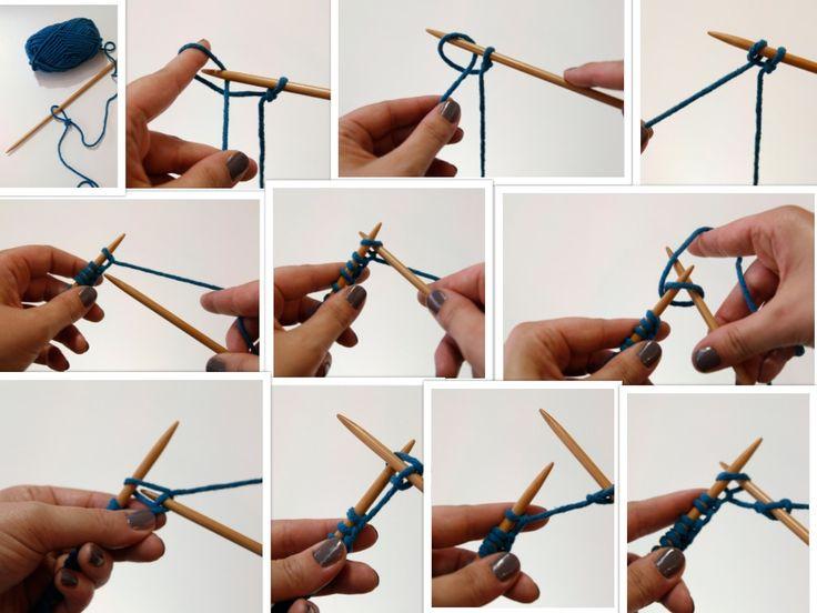 voor beginners leren breien