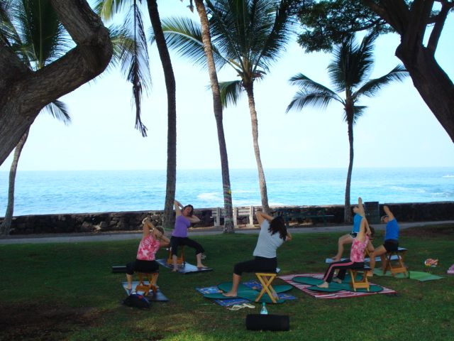 Yoga Flow, Gyrokinesis, Body Rolling, and Belly Dance Burlesque Classes Kailua Kona Hawaii