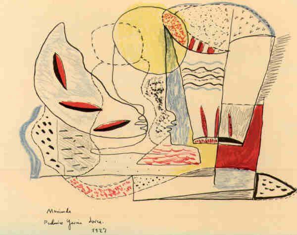 dibujos de Lorca                                                                                                                                                                                 Más