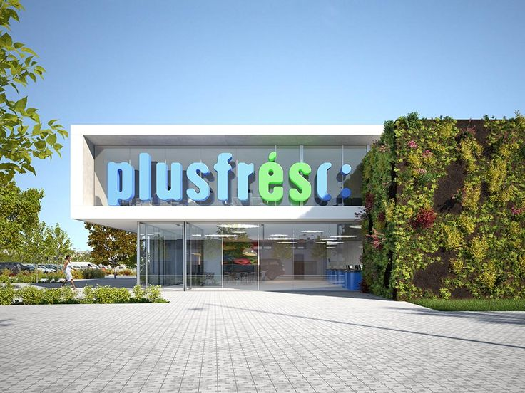 3D illustration for the architectural competition for the building Plus Fresc in Lleida