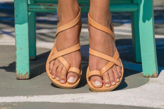 Sandalias sandalias griegas sandalias de por TriskelionSandals