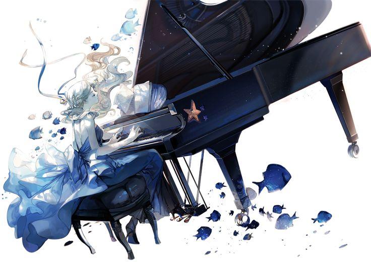 「水の戯れ」/「nineo」のイラスト [pixiv]
