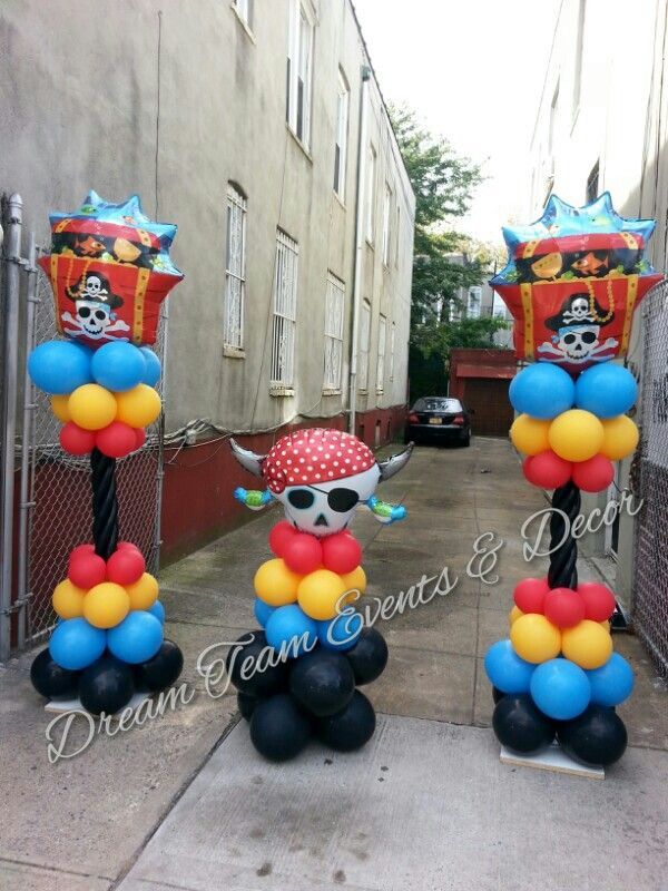 Pirate Themed Event Decor 23 best balloon