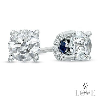 These earrings sparkle from every angle.