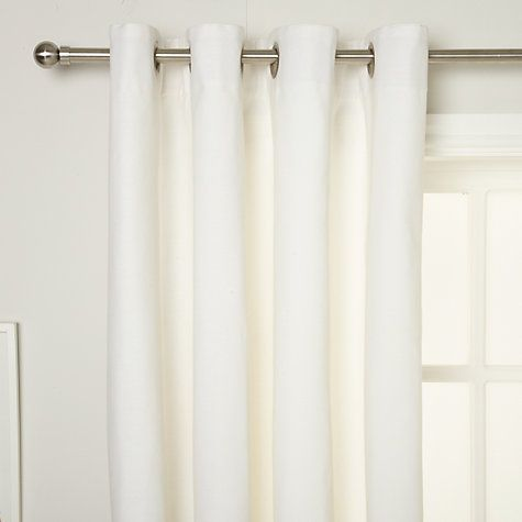 House by John Lewis Lined Eyelet Curtains, Lily