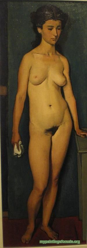 Nude Standing - Yiannis Moralis