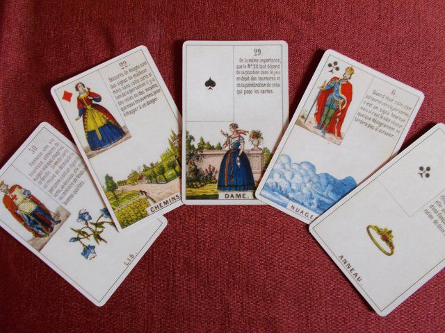 Daveluy Lenormand Cards