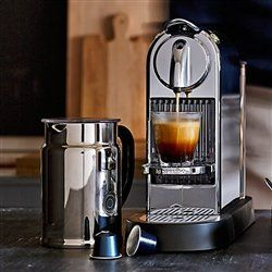 Quick and Easy Gift Ideas from the USA  Nespresso Citiz C111 Espresso Maker with Aeroccino Plus Milk Frother, Chrome http://welikedthis.com/nespresso-citiz-c111-espresso-maker-with-aeroccino-plus-milk-frother-chrome #gifts #giftideas #welikedthisusa