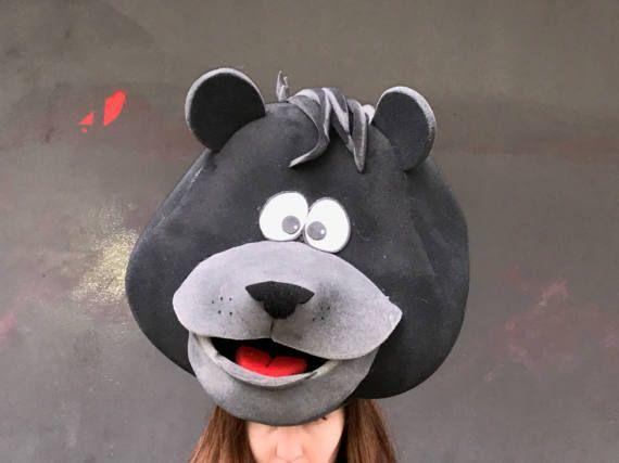 Laetitia coiffe costume de livre de la Jungle masque dours