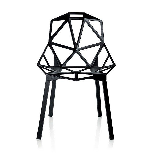 #German #designer #KonstantinGrcic's love of #furniture dates back his highschool years, when he got a job with an antique furniture restorer. He developed an appreciation for good design and construction techniques, which he has applied over his career.  The #ChairOne was developed over the space of 4 years, and was the first product #Grcic created using 3D modelling on computer.  The aim of the design was to use the least amount of material, while providing maximum strength and comfort…