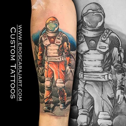 Space Tattoo #Brisbane #Tattoo #Artist #Tattooist