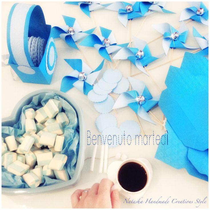 Babyshower, girandole, craft, scrap, creativeideas, bomboniere, segnaposto, portaconfetti, eventi