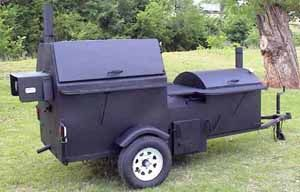 The King Gator Commercial Smoker