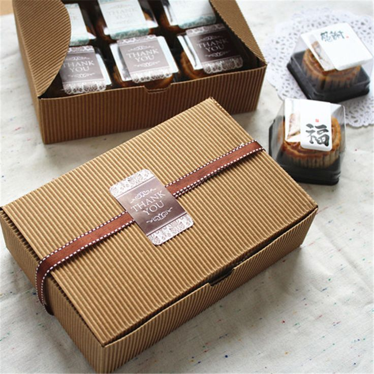Roasted wild corrugated packaging kraft color .6 Capsules 50 g moon cake box cake box West Point box biscuit box