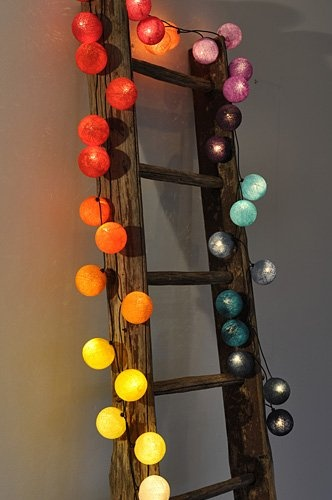 Happy Lights - RAINBOW. Vælg str.