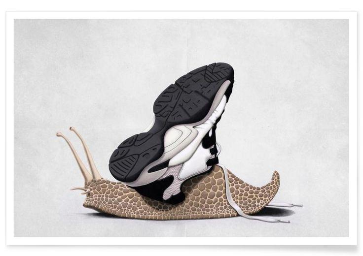 The sneaker - Rob Snow | Creative - Premium Poster art | decor | wall art | inspiration | animal | home decor | ideas | gift