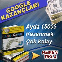 Google Kazançları Kitabı http://www.xticaret.com/xticaret/?12_12643