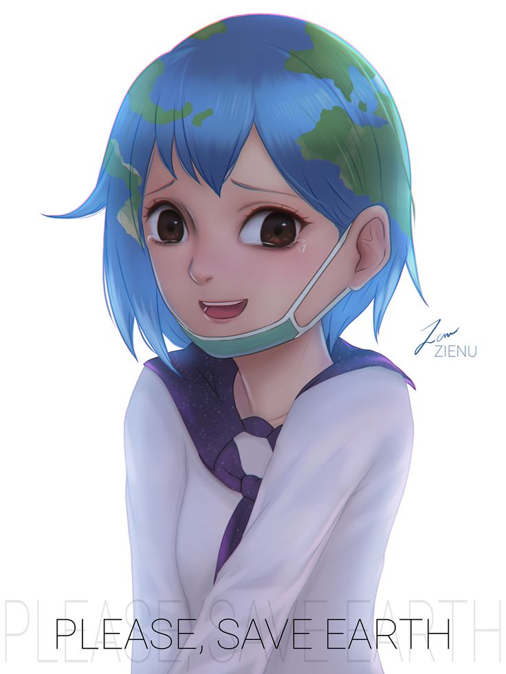 Save Earth! by Zienu | Earth-chan | Know Your Meme