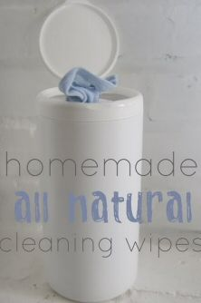 How To Make Homemade Natural Cleaning Wipes