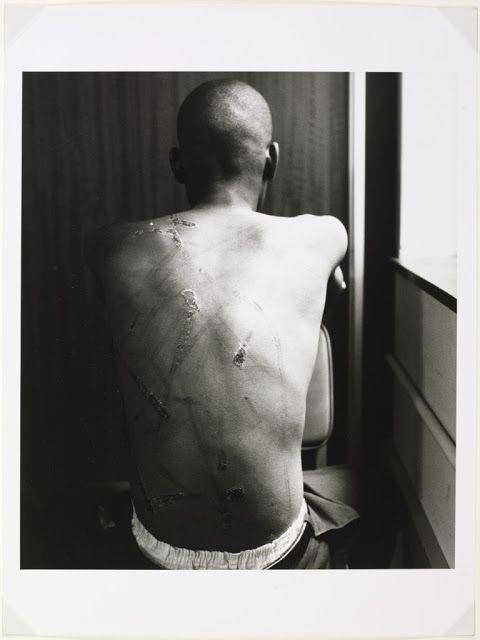 Lawrence Matjee after release from detention. De Villiers Street, Johannesburg, 25 October 1985. © David Goldblatt