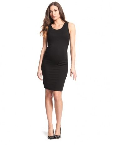 Little Black Maternity Dresses