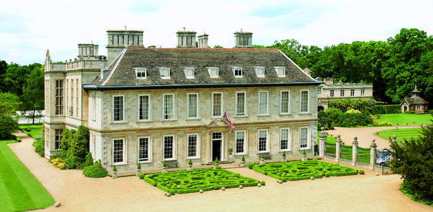 UK's Top 10 Dog-Friendly Hotels - Stapleford Park in Leicestershire #dog #dogfriendly #hotel #design