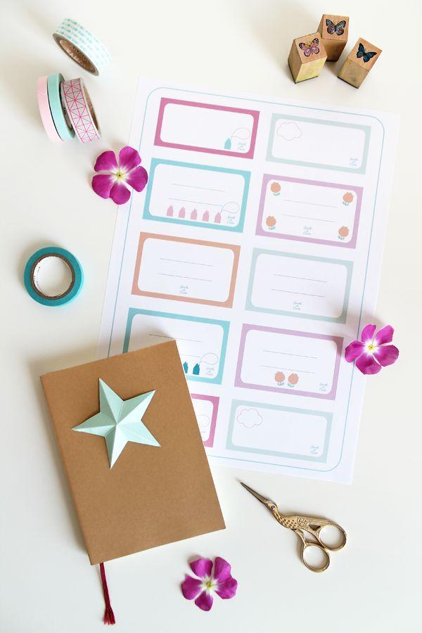 Etiquetas para imprimir // giochi di carta: Labels - Etichette {free printable}