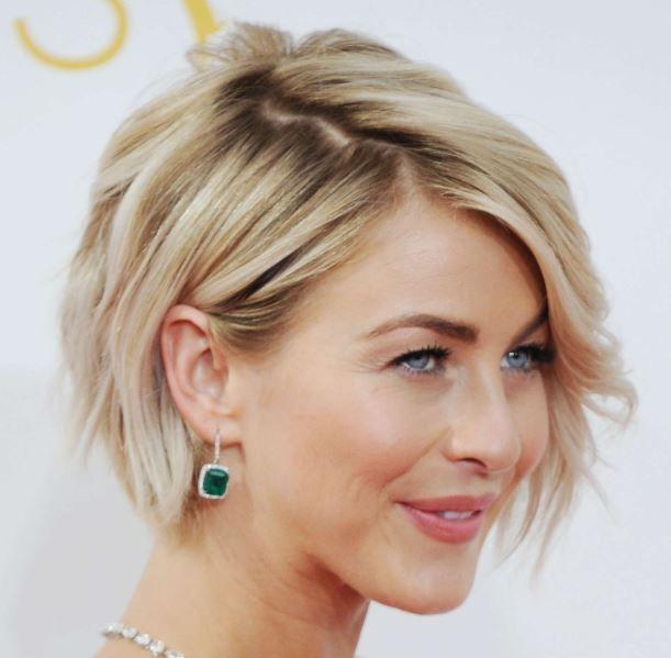 Ünlüler Kısa Saç Modeli Sarı Saçlar
