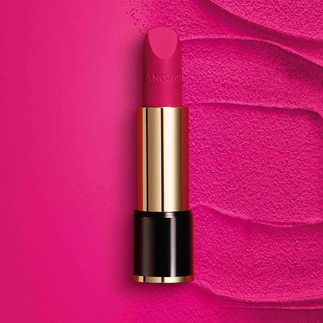 """Meet one of the 4 #LabsoluRouge star shades: """"Rose Lancôme"""" 378 Matte. The essence of bright femininity.  #ClickTheRose #Lancome"""