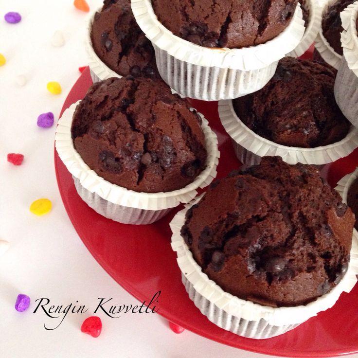 Çikolatalı Muffin / Chocolate Muffin