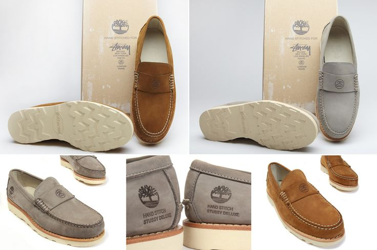 Stussy Deluxe x Timberland Loafer (April 2011)