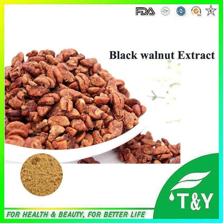 1000g Naturel Black walnut / juglans nigra Extract with free shipping