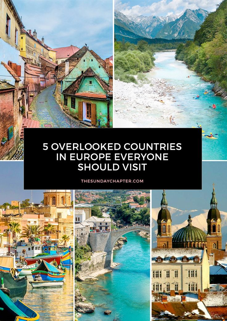 I've previously shared Europe's underrated cities, but over the past few months I've done so much research into off-the-beaten-road destinations that I have to share what's new on my radar. Here are the 5 most overlooked countries in Europe that you wont find on many people's itineraries.