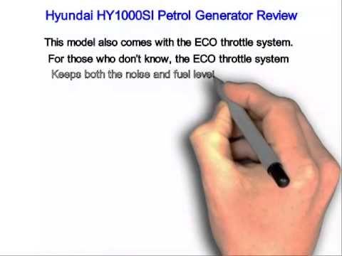 Hyundai HY1000SI Petrol Generator Review
