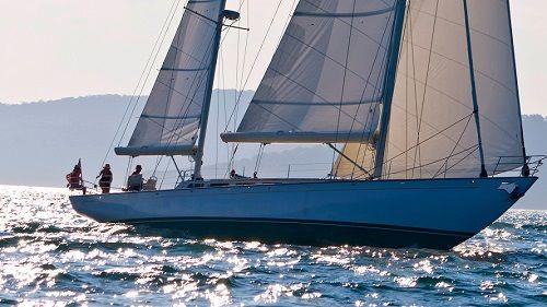 Beautiful restored luxury yachting on the Whitsundays