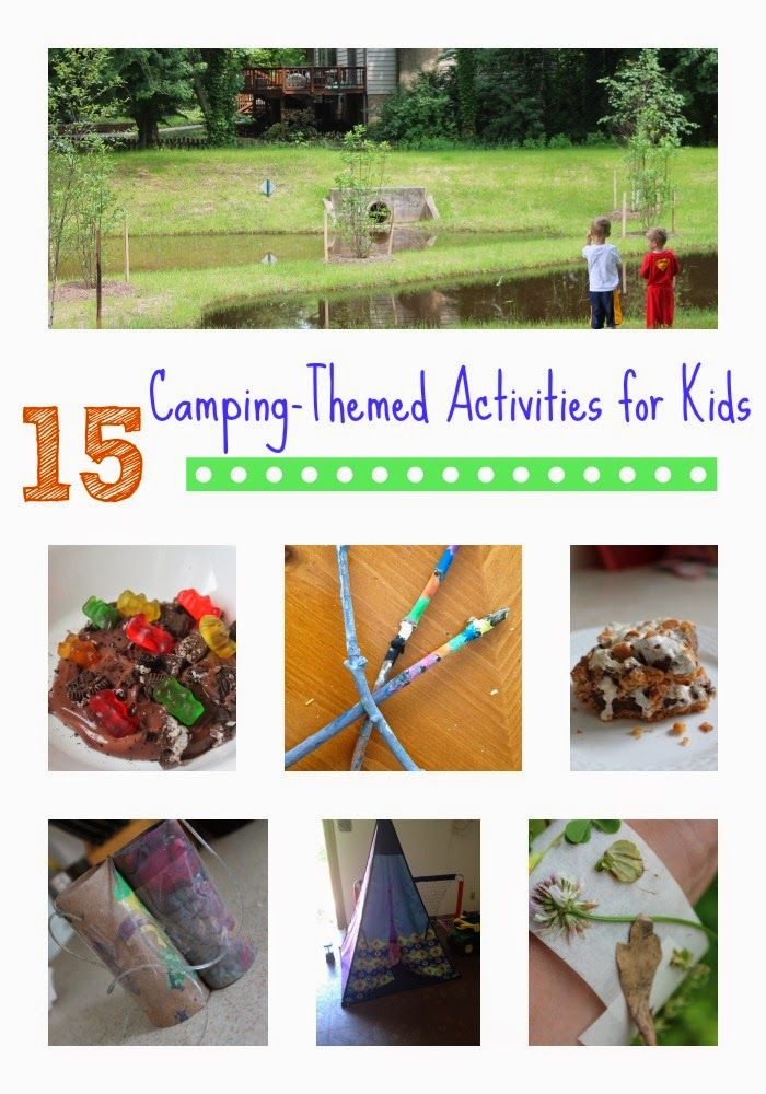 114 best Camping and Campfire Theme for Preschool and ...