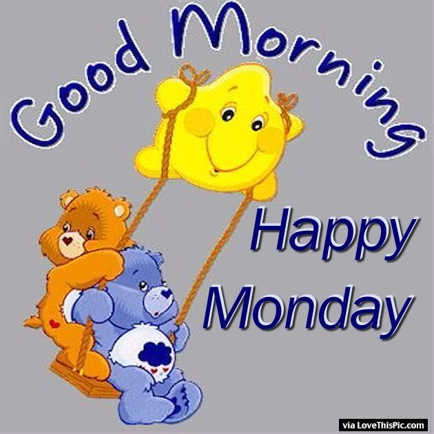 monday carebears cute monday quotes monday quotes for family and friends carebear quotes monday greetings