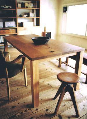 Oak Table, Truck furniture (japan)