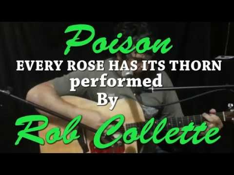 Every rose has its thorn by poison covered by Rob Collette