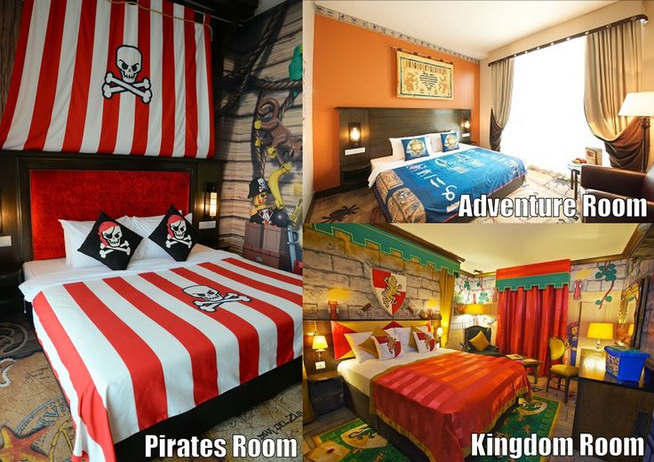 3 different themes to choose from at Legoland Malaysia ...