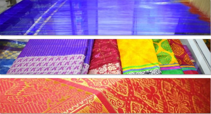 Kanchipuram is a temple town in Tamil Nadu, India which is known for Kanchipuram silk sarees. It was the capital city of erstwhile Pallava dynasty.