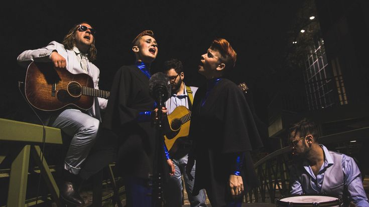 For our first South X Lullaby of SXSW 2016, we met the pop band Lucius on a bridge over Waller Creek at 10:00 p.m. for a ballad about finding your way in the unknown.