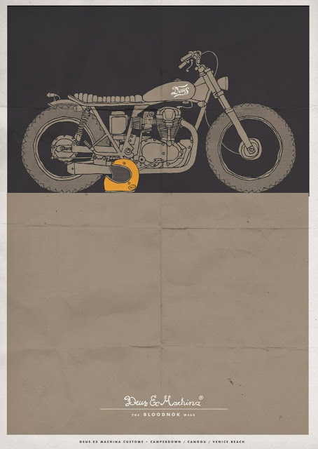 Really love Deus's style. Vintage authentic type.