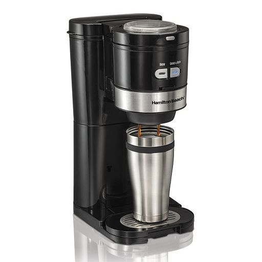 Hamilton Beach Grind & Brew Single-Serve Coffee Maker